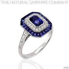 Blue Sapphire Ring Image 2