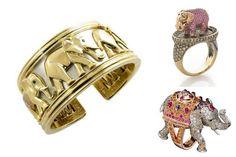 Jewelry trends 2017 Elephants  #ring #elephant @boucheron #wendybrandes #cartier #bracelet #jewelry #animal #trend #fashion