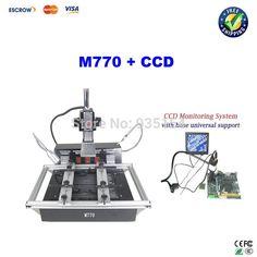 386.00$  Buy here  - Cheapest infrared BGA rework station M770, 2 zones BGA machine +LY Cobra CCD camera with 8'' monitor