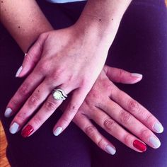 Disney Fun! #Shellac with a #Glitter accent nail! Our client wanted something #magical for her #Disney adventure!