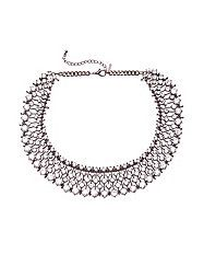 For the Zara necklace this is by Lane Bryant, $39.95, but it is 50% off that price with code SHOPHAPPYLB (as of July 8, 2014). Our thanks to Angela for sharing her find on the WKW Facebook page!