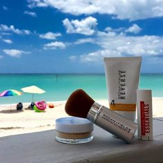 For all my beach loving family and friends, here is my Fun in the Sun Face Pack... Reverse w/SPF 50, Lip Shield w/SPF 25 (Love), and my wear everyday, Mineral Peptides Powder, also SPF 20... This powder benefits your skin, protects your skin, reduces redness, evens skin tone, & is weightless! A radiant glow, minus the damage =D A fresh face in the sun, without heavy make-up... Yes Please!! amyammons.myrandf.com