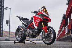 Ducati regresa a Pikes Peak con la Multistrada 1260 Ducati Multistrada 1200, Moto Ducati, Old School Motorcycles, Ducati Motorcycles, Yamaha, Sidecar, Motorcycle Wallpaper, Carlin, Bike Photo