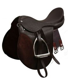 "18"" Brown All-Purpose English Style Saddle"