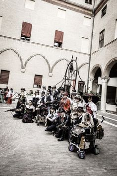 Steampunk Nord-Est Italia at FeComics and Games, Ferrara, Italy photo by ScreenWEEK Cosplay