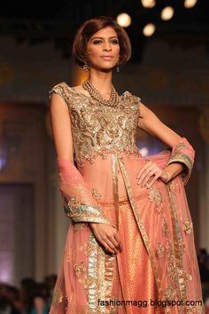 pakistani bridal dresses | Indian-Pakistani-Bridal-Wedding-Dresses-2012-13-Bridal-Saree-Lehenga ...