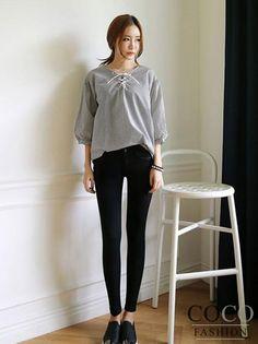 Czarne Jeansowe Spodnie Rurki z Kieszeniami