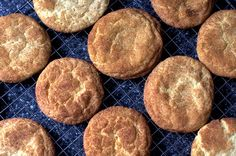 snickerdoodles by smitten kitchen - Okay so I didn't make them, Dave did, and they are delicious!