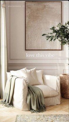Home Decor Bedroom, Home Living Room, Living Room Decor, Living Room Inspiration, Home Decor Inspiration, Ideas Habitaciones, Earthy Home, Home Interior Design, Interior Decorating