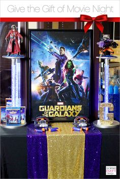 Give the Gift of Movie Night with Guardians of the Galaxy! by SoireeEventDesign.com #OwnTheGalaxy #ad