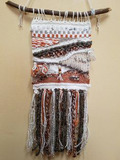 Hey, I found this really awesome Etsy listing at https://www.etsy.com/listing/576527316/woven-wall-hanging