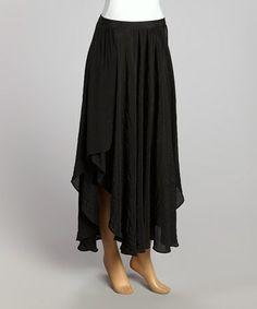 Look what I found on #zulily! Black Sunset Maxi Skirt - Women by Tasha Polizzi #zulilyfinds