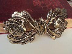 Vintage Belt Buckle Art Nouveau Style by primitivepincushion