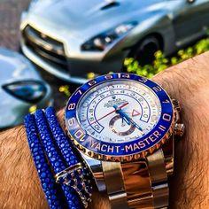 #Rolex #YachtMasterII --