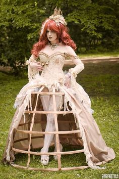 A little to riskie for me, but I like the petti cage - Steampunk Girl