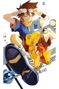 yagami taichi and digimon εικόνα