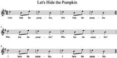 Let's Hide the Pumpkin - ideas for each month Music a la Abbott: October 2012 Preschool Music, Music Activities, Teaching Music, Holiday Activities, Christmas Activites, Music Games, Halloween Activities, Fun Songs, Songs To Sing