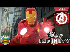 Disney Infinity 2.0 Marvel PC Gameplay [Iron Man]