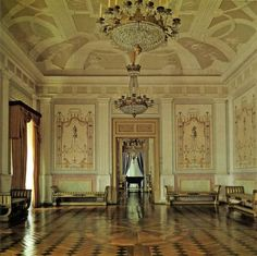"An interior picture of the Palácio Souto Maior (pic from ""Solares e Casas Nobres de Portugal"" hosted by SkyscraperCity)"