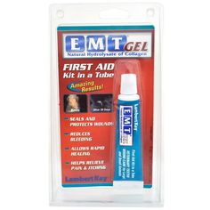 EMT First Aid Gel (1 oz) >>> You can find out more details at the link of the image. (This is an affiliate link and I receive a commission for the sales)