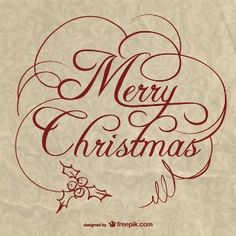 Wishing you the joy and love of this beautiful season -- Christmas lettering with paper texture Merry Christmas Vector, Christmas 2015, Christmas Signs, Christmas Decorations, Free Paper Texture, Christmas Background, Vector Free, Clip Art, Joy