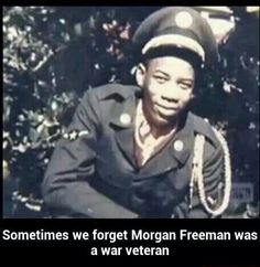 Morgan FREEMAN in the service for America.