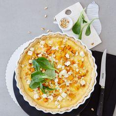 Rezept Quiche mit Butternusskürbis von Zucker, Zimt & Liebe