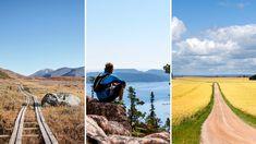 Sveriges bästa vandringsleder Country Roads, Mountains, Nature, Travel, Europe, Voyage, Trips, Viajes, Naturaleza
