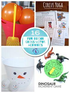 16 Fun gross motor activities!