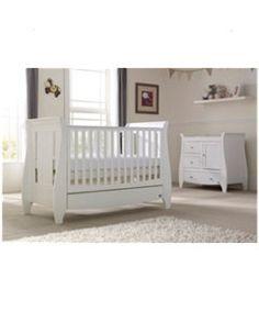 Tutti Bambini Lucas 2-Piece Nursery Bundle http://www.parentideal.co.uk/mothercare---nursery-furniture-sets.html