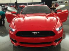#FordNAIAS ~ Behind the scenes look at the 2015 Mustang Redesign