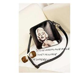 Cats Printing women Handbag Shell bag women PU leather messenger bag women small bag WLHB1116