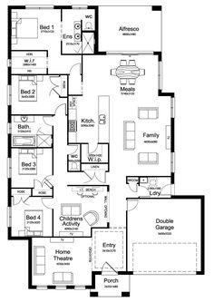 New Home Builders - Kurmond Homes   Boulevarde 29 - Single Storey Home Designs