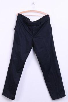 0cdfd0985 Hugo Boss Mens 52 Trousers Cotton Navy Chic Classic - RetrospectClothes  Hugo Boss