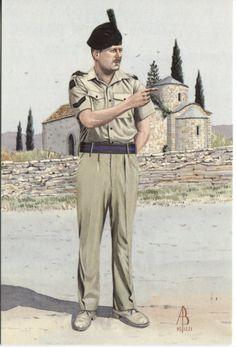 Alix Baker Postcard - AB18/3 Lance Corporal, 1st Bn Royal Irish Regiment, Cyprus 1993 (No7 Dress)