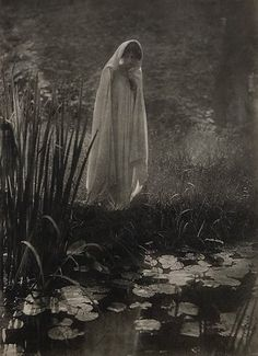 1910. Its supposed to be haunting Victorian photography, but I really like it.