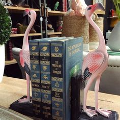 Flamingo  Flamingo bookends now in store at Canalside Interiors!  See you this weekend!  OPEN 7 DAYS | 38 Burrows Rd Alexandria  www.canalside.com.au  #furniture #canalsideint #canalsideinteriors #Sydney #Alexandria @canalsideint