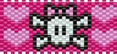Girlyskull Pony Bead Patterns | Misc Kandi Patterns for Kandi Cuffs