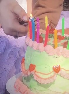Pretty Cakes, Cute Cakes, Teen Birthday, Birthday Cake, Bday Girl, Healthy Picnic, What's My Favorite Color, Morning Food, Aesthetic Food