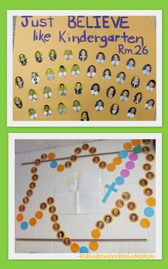 Maybe use rosary b.b. idea and pics of each student in school for CSW