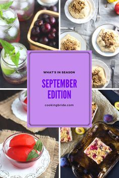September signals the end of summer and the arrival of Fall. However there is still an abundance of fresh produce. Here is what you should be eating in September.