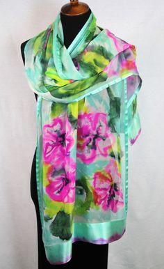 Cashmere Silk Scarf - Palisades Pink 4 by VIDA VIDA XqaEpd7huj