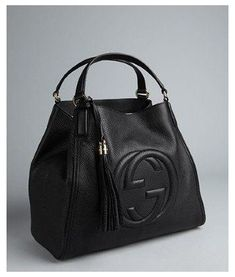 Dior, Sacs Design, Cute Handbags, Large Handbags, Prada Handbags, Shopper, Black Leather Handbags, Leather Purses, Gucci Black