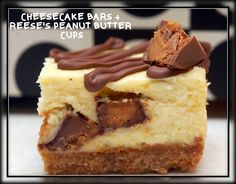 Hugs & CookiesXOXO: PEANUT BUTTER CUP CHEESECAKE BARS