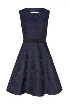 Reiss Natalie Blu Dress, £198 - Winter Wedding Guest Dresses - Wedding Guest Dresses - Wedding Guest Outfits