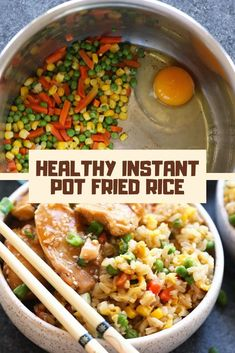 Love this easy delicious recipe. I crave fried rice ALL. This fulfilled my craving and so glad I have some leftovers. Amazing Vegetarian Recipes, Easy Delicious Recipes, Healthy Breakfast Recipes, Brunch Recipes, Dinner Recipes, Healthy Recipes, Simple Recipes, Breakfast Ideas, Keto Recipes
