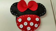 Minnie head filled with scented rice