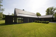 MAAS ARCHITECTEN b.v. (Project) - Nieuwbouw woonhuis - PhotoID, Mono Material, Simple Form