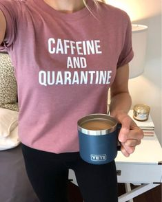 theclassywoman   LIKEtoKNOW.it  This super soft tee is only $16 and comes in 10 colors! I'm wearing a size small for reference and heather mauve is the color with white print. It fits TTS.  #quarantine #wfh #casualstyle #ootd #socialdistancing #graphictee # Classy Fashion, Classy Women, Mauve, Graphic Tees, Ootd, Colors, How To Wear, Shopping, Style Fashion