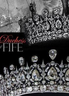 #Fife #tiara #jewelhistory: http://www.royal-magazin.de/england/fife-massin-tiara.htm #Massin 'Diamond Tiara of the Duchess of Fife, that Oscar Massin displayed at the Exposition Universelle of 1878.